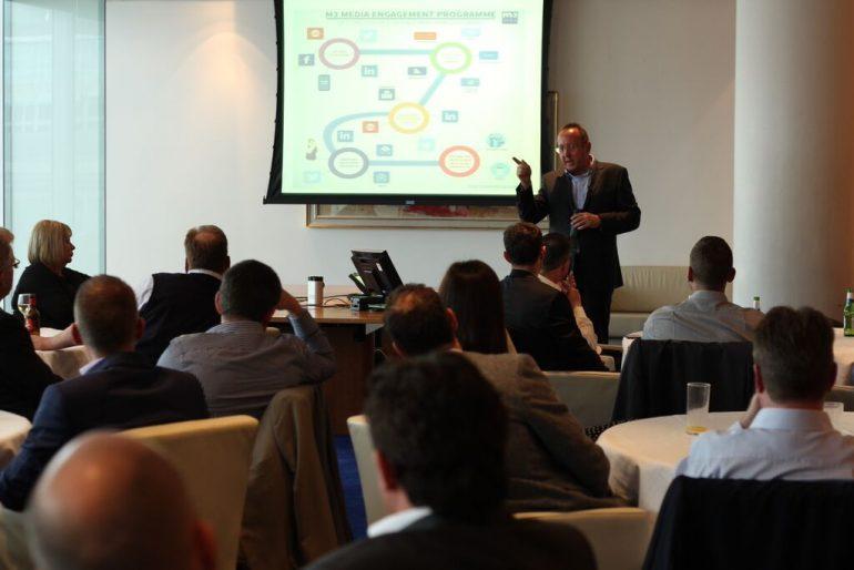 content marketing expert David Lomas of M3 Media Publishing