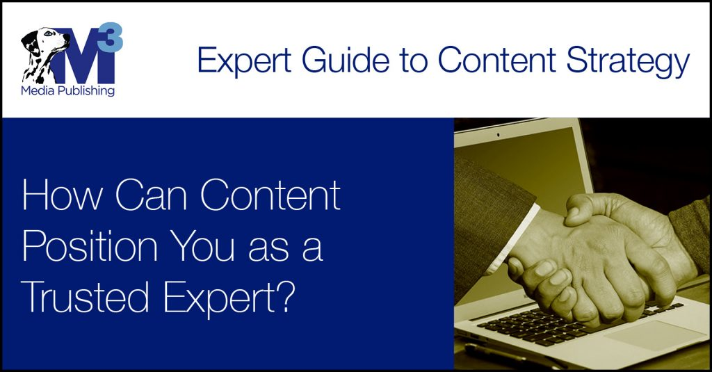 Content Positions You as an Expert