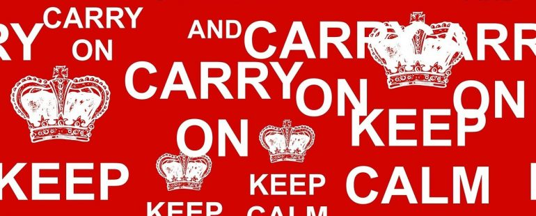 marketing strategy - keep calm and carry on